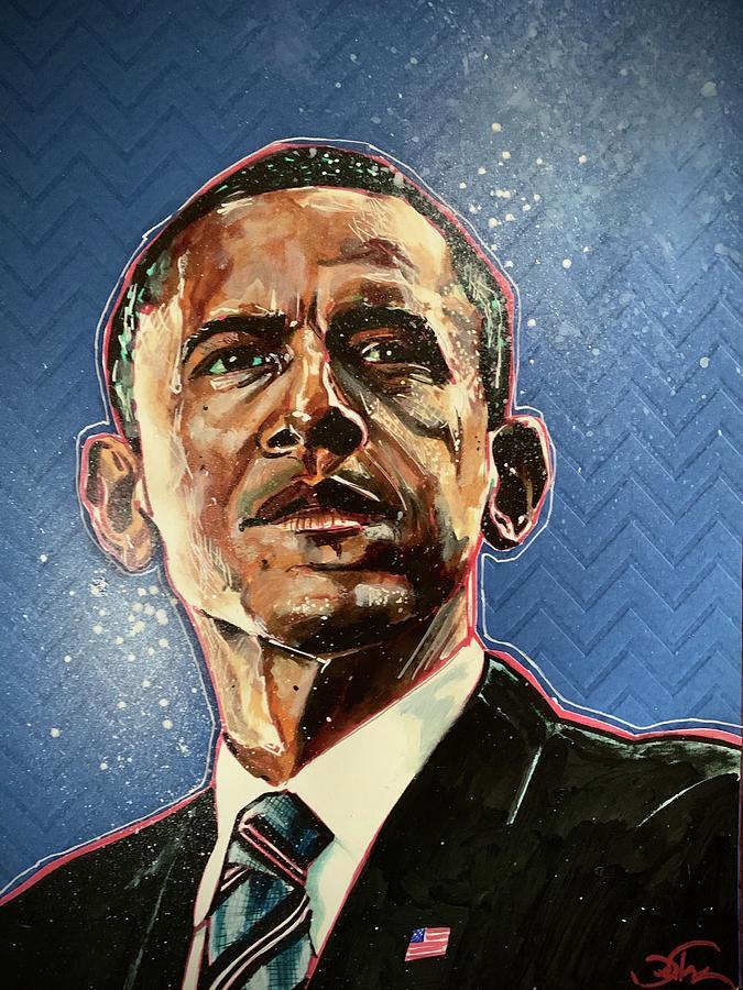 President Barack Obama by Joel Tesch