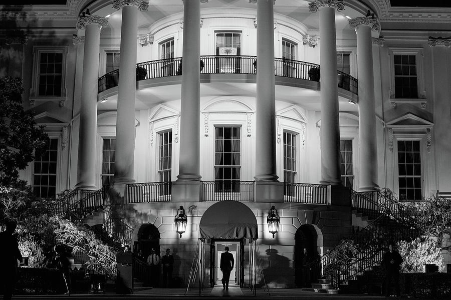 President Obama Entering The White House - 2012 by War Is Hell Store