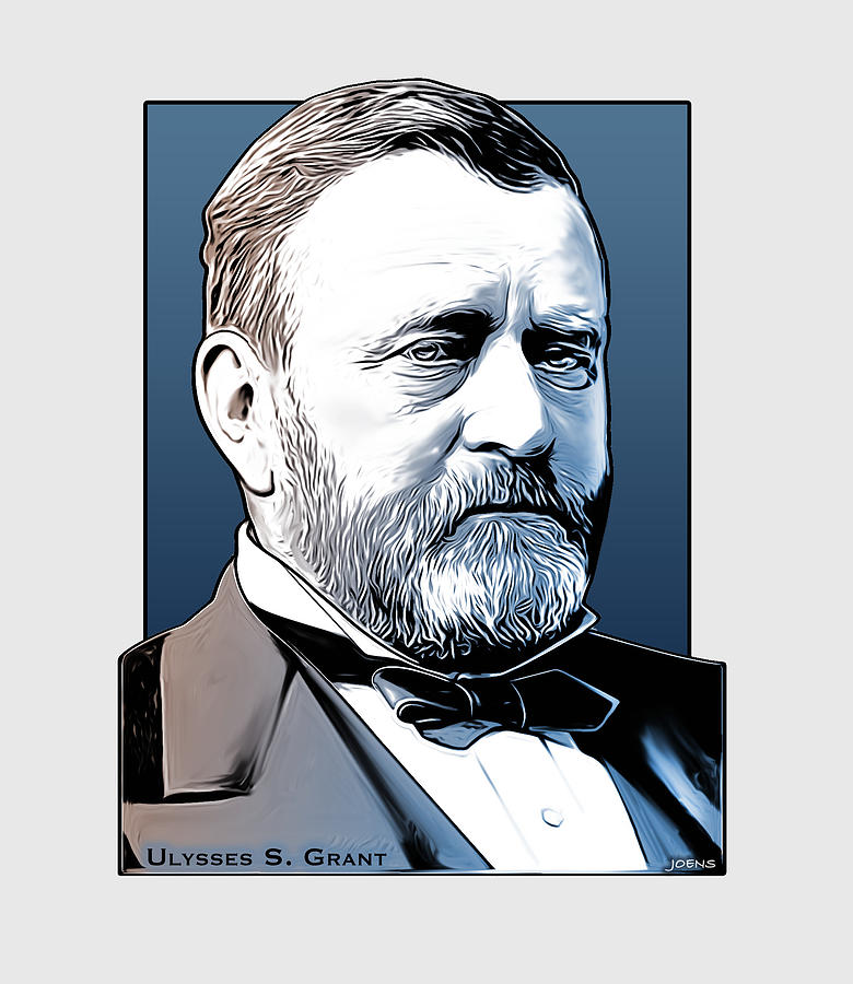 President Us Grant Drawing