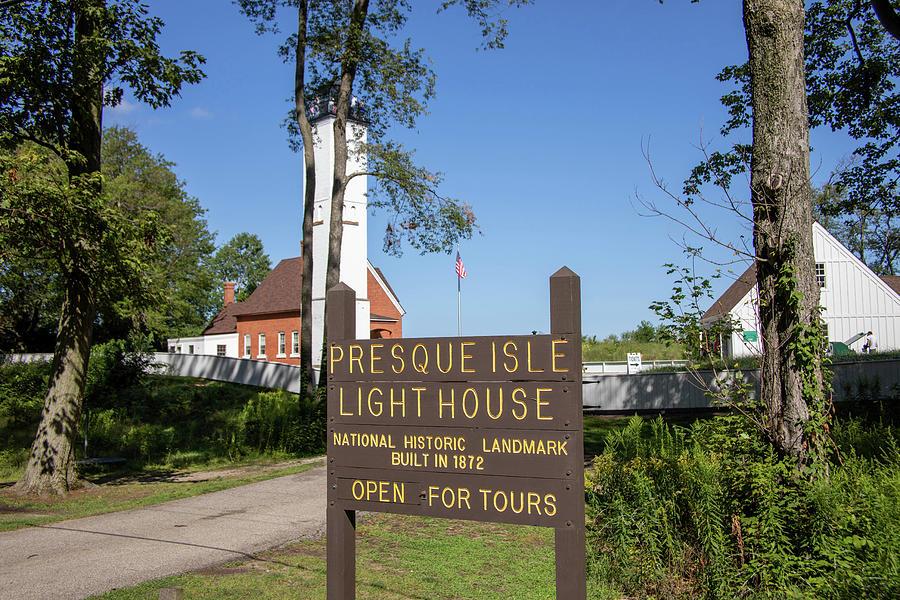Presque Isle Lighthouse Photograph