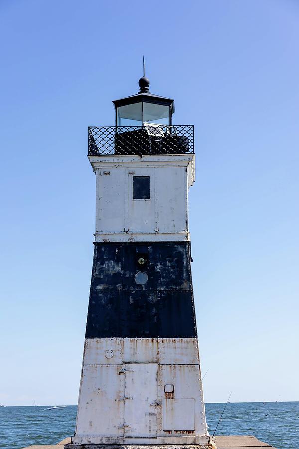 Presque Isle North Pierhead Lighthouse On Lake Erie Photograph