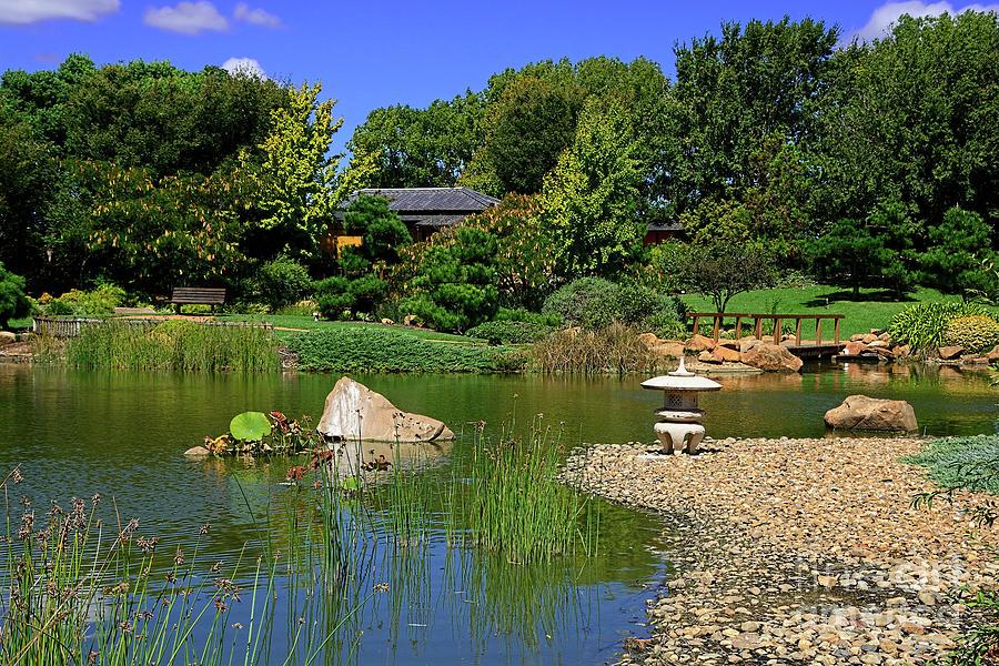 Pretty Botanical Gardens Dubbo 2 By Kaye Menner Photograph