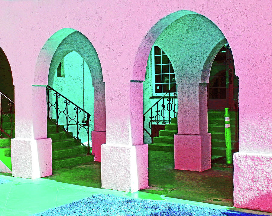 Pretty Pink Arches by Andrew Lawrence
