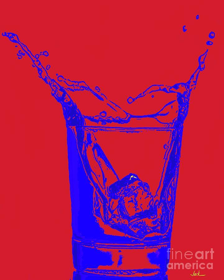 Vodka Painting - Pretty Vodka by Jack Bunds