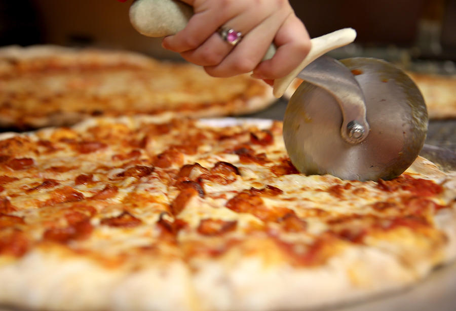 Price Of Milk Rises, Potentially Raises Cost Of Cheese And Pizza Photograph by Joe Raedle