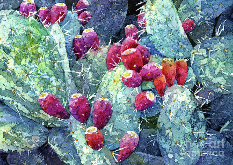 Prickly Pear 2-pastel Colors Painting
