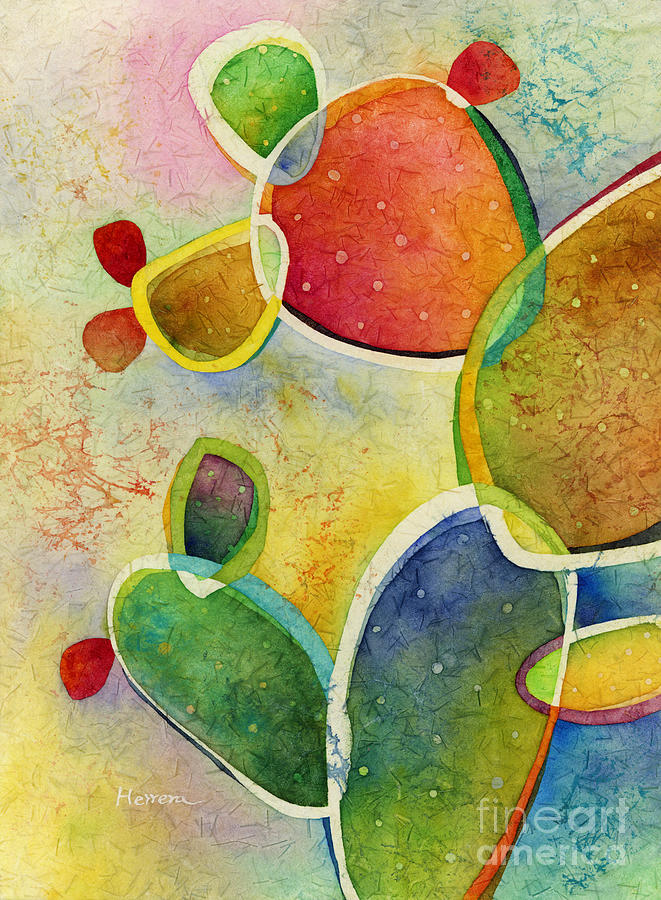 Prickly Pizazz 4 Painting