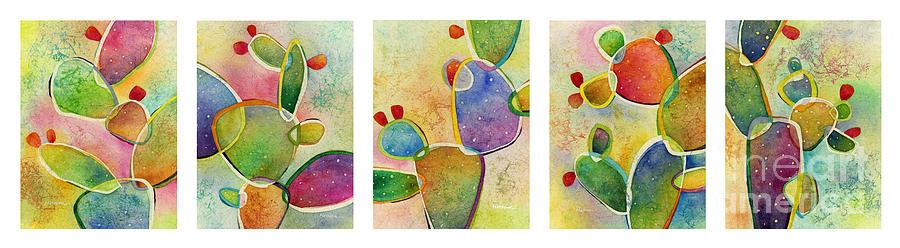 Prickly Pizazz Series Painting