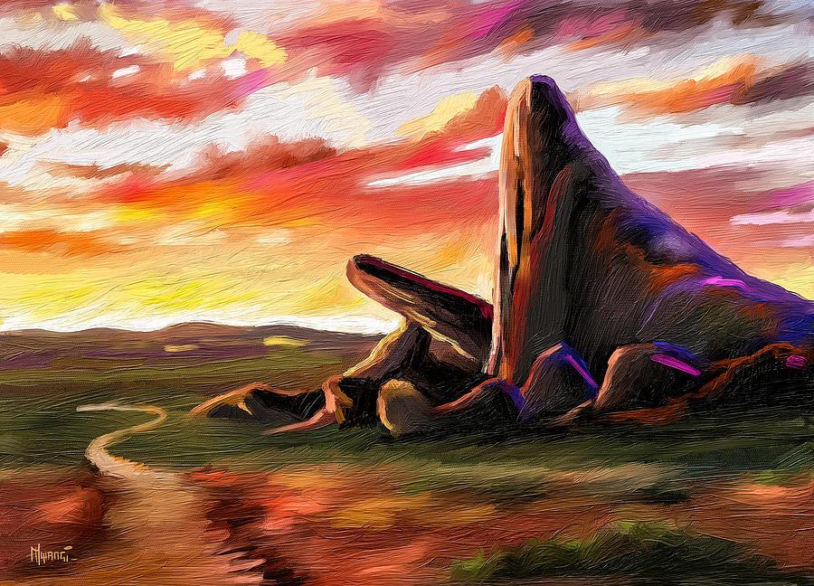 Pride Rock Painting