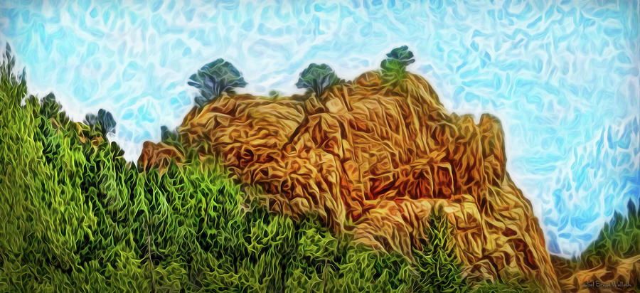 Primal Mountain Forest by Joel Bruce Wallach