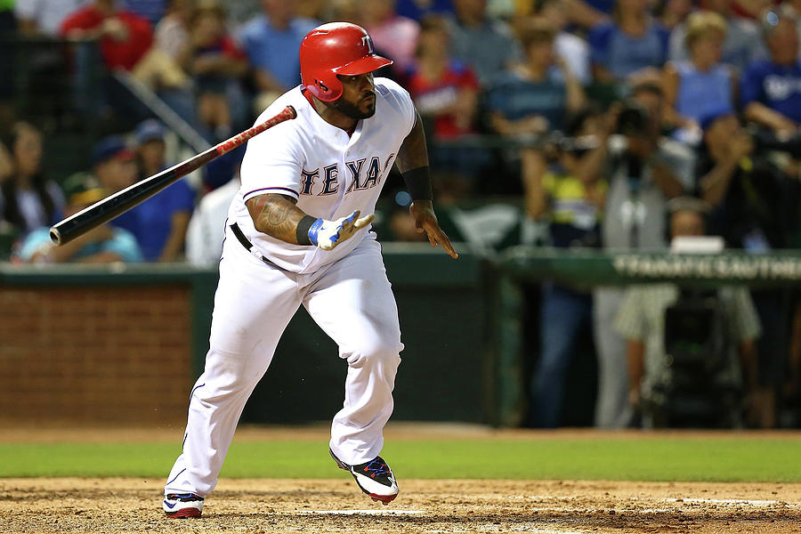 Prince Fielder Photograph by Sarah Crabill