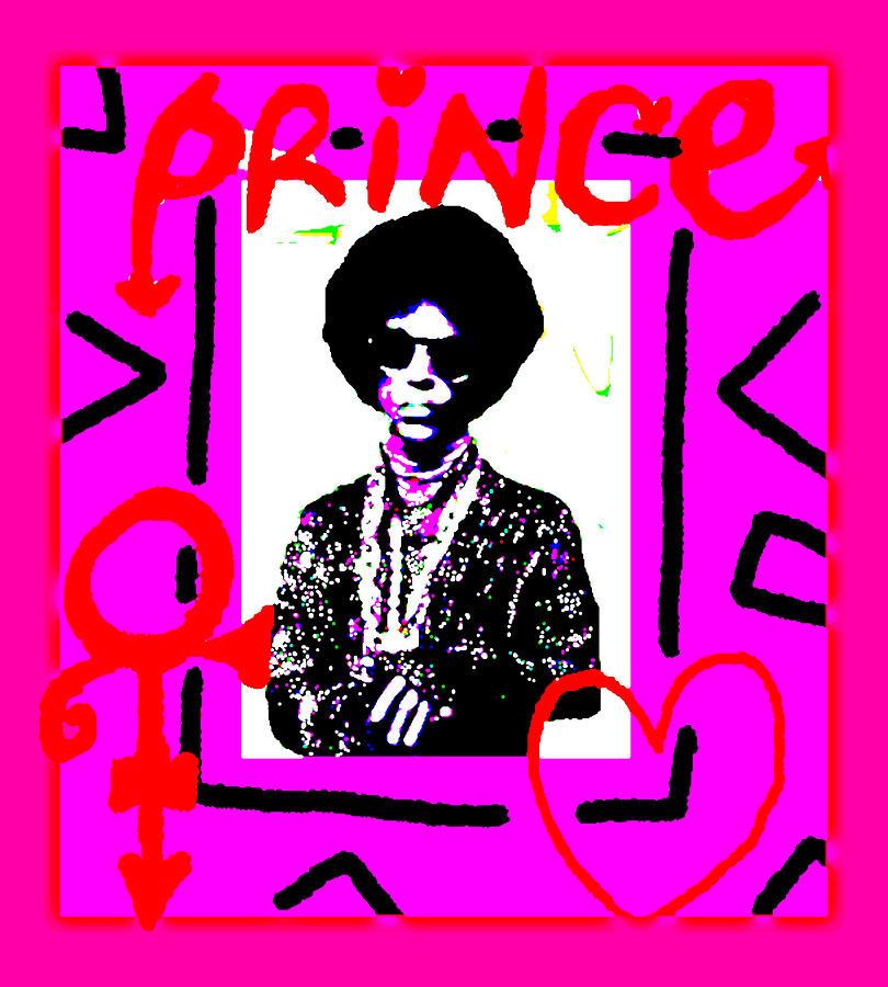 Prince Love Symbol Drawing