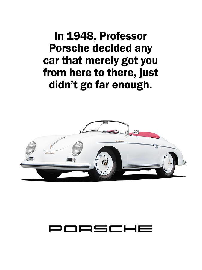 Porsche Photograph - Professor Porsche by Mark Rogan