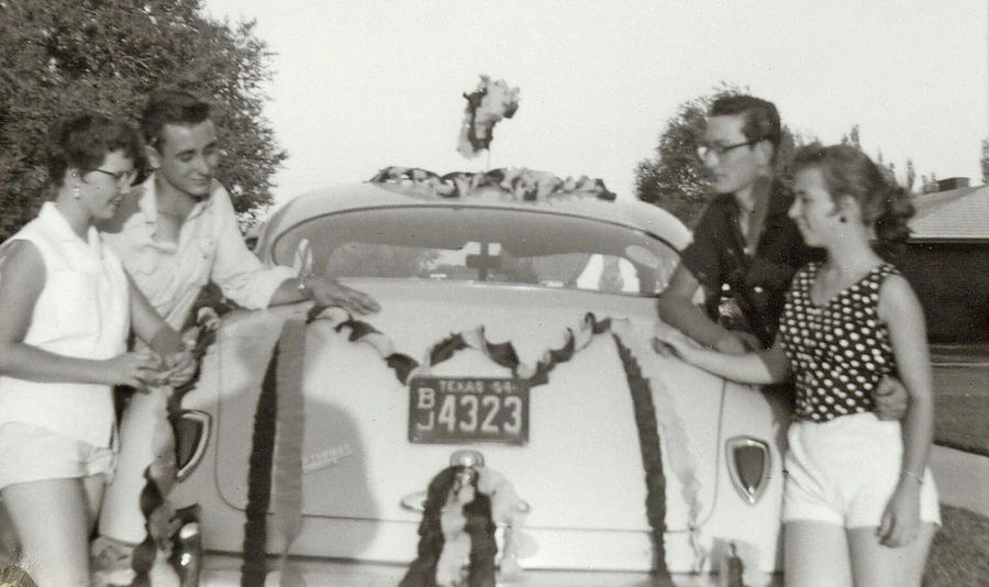 Buddy Holly Photograph - Prom Car by John Bates