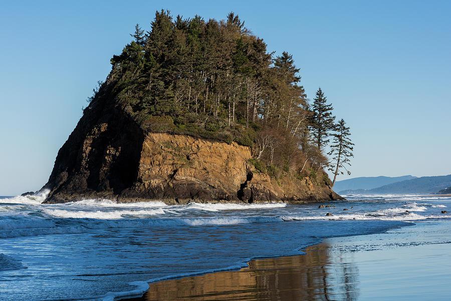 Proposal Rock Neskowin Reflection by Robert Potts
