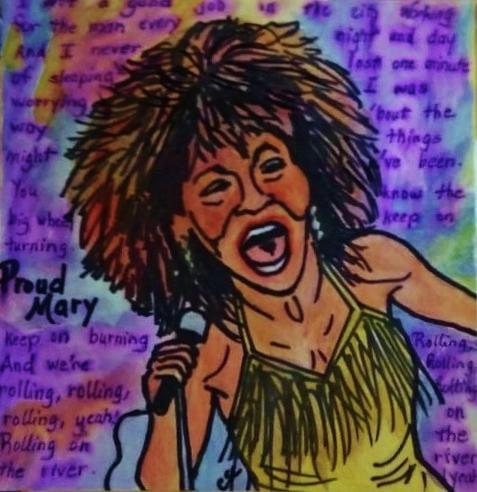 Proud Mary Mixed Media