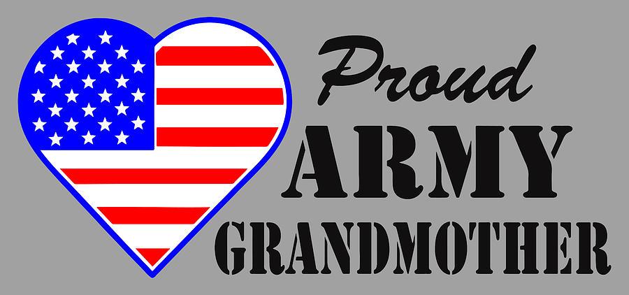 proud U.S. Army Grandmother Photograph