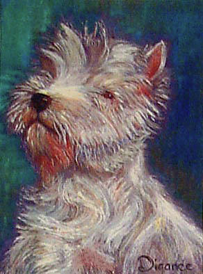 Proud Westie Painting