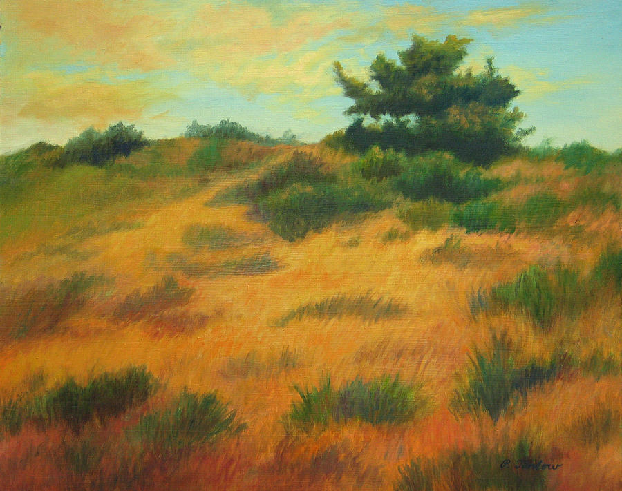 Landscape Painting - Province Lands Cape Cod by Phyllis Tarlow