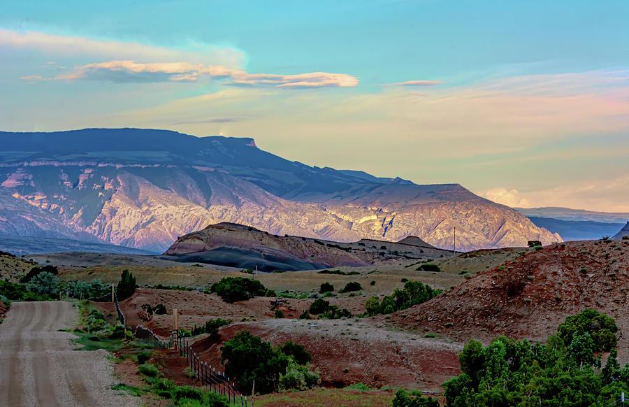 Pryor Mountain Sunset  by Douglas Wielfaert