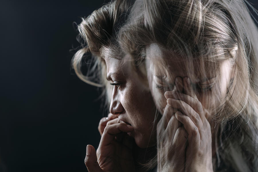 PTSD, conceptual image Photograph by Microgen Images/science Photo Library