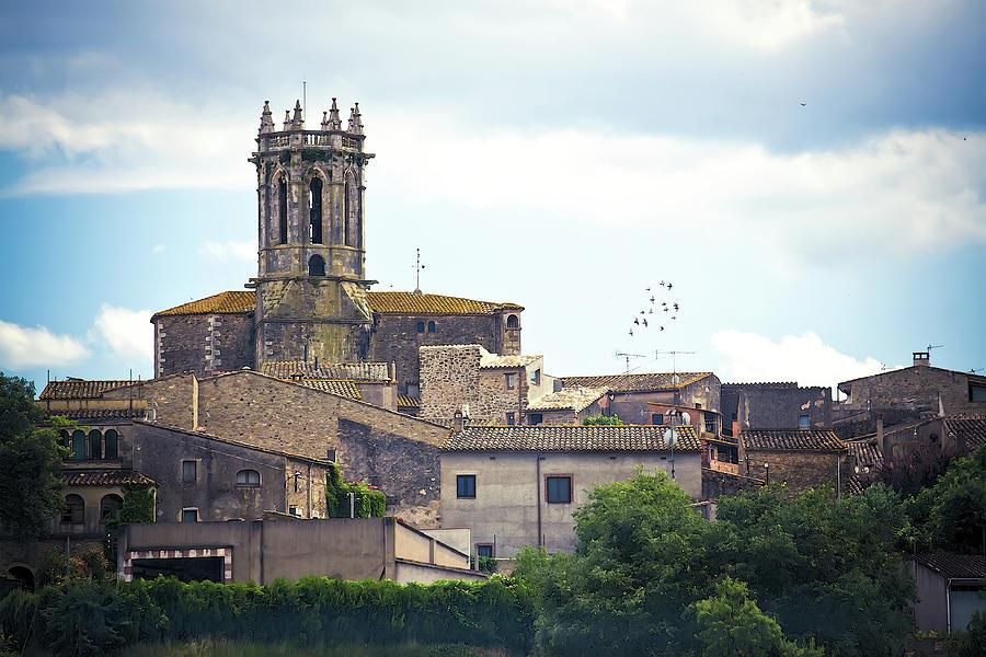 Medieval Photograph - Pubol Village Spain by Tatiana Travelways