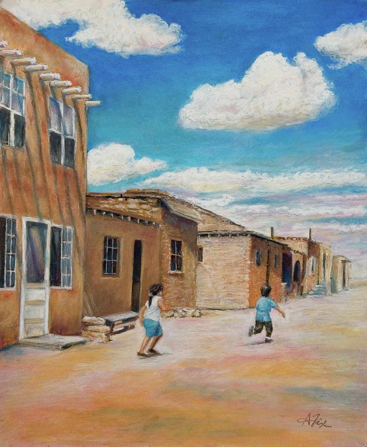 Pueblo Playground by Arthur Fix