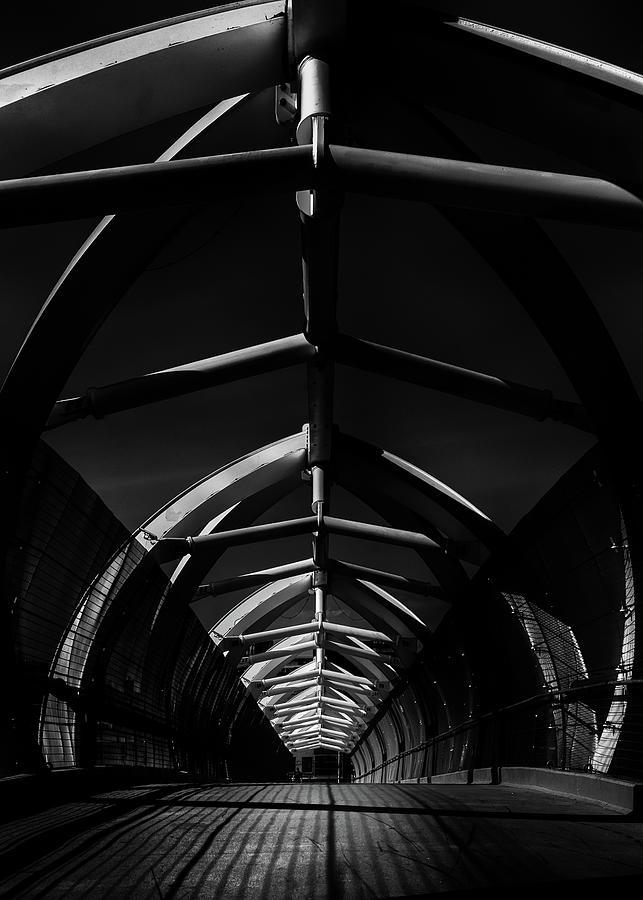 Puente De Luz Pedestrian Bridge Toronto Canada No 2 Photograph