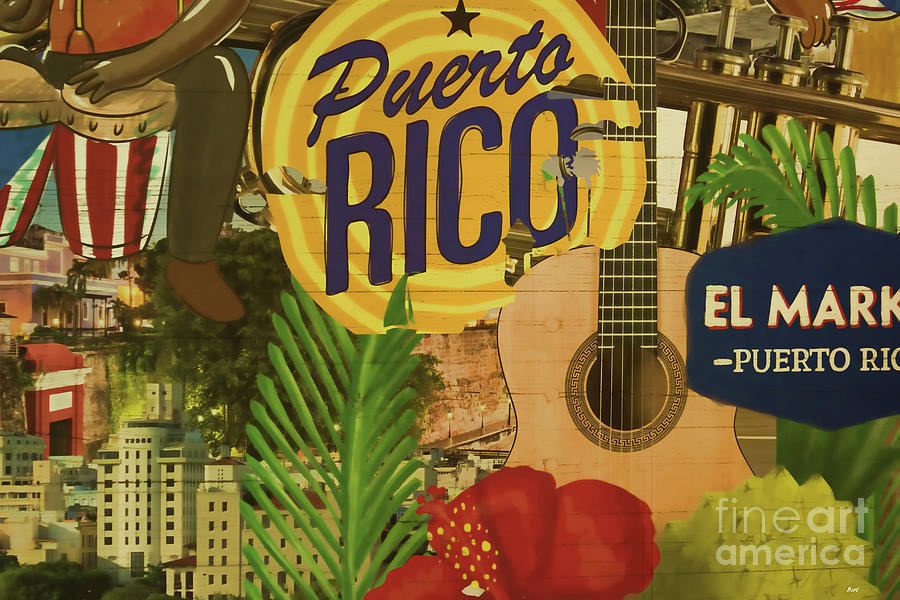Puerto Rico Art by Roberta Byram