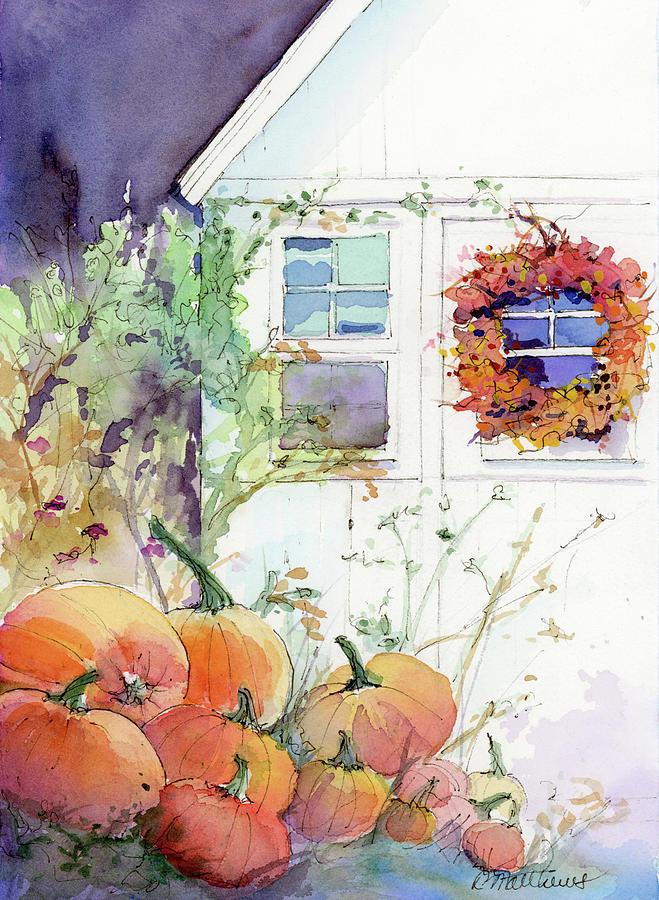 Pumpkin harvest by Rebecca Matthews