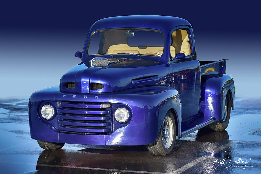 Purp Truck by Bill Dutting
