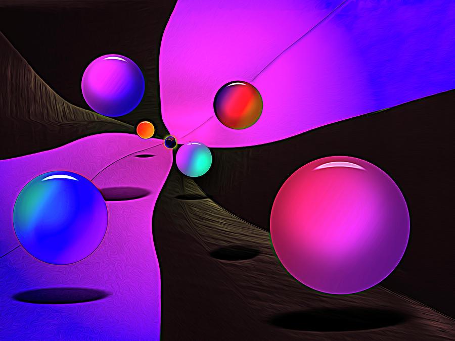 Purple Ballroom by Paul Wear