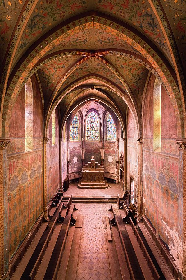 Purple Chapel by Roman Robroek