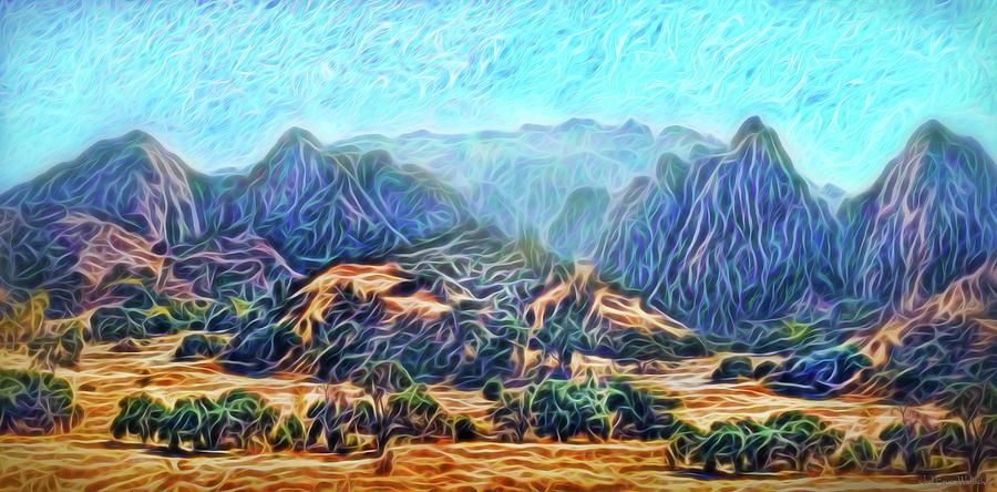 Purple Mountain Morning by Joel Bruce Wallach