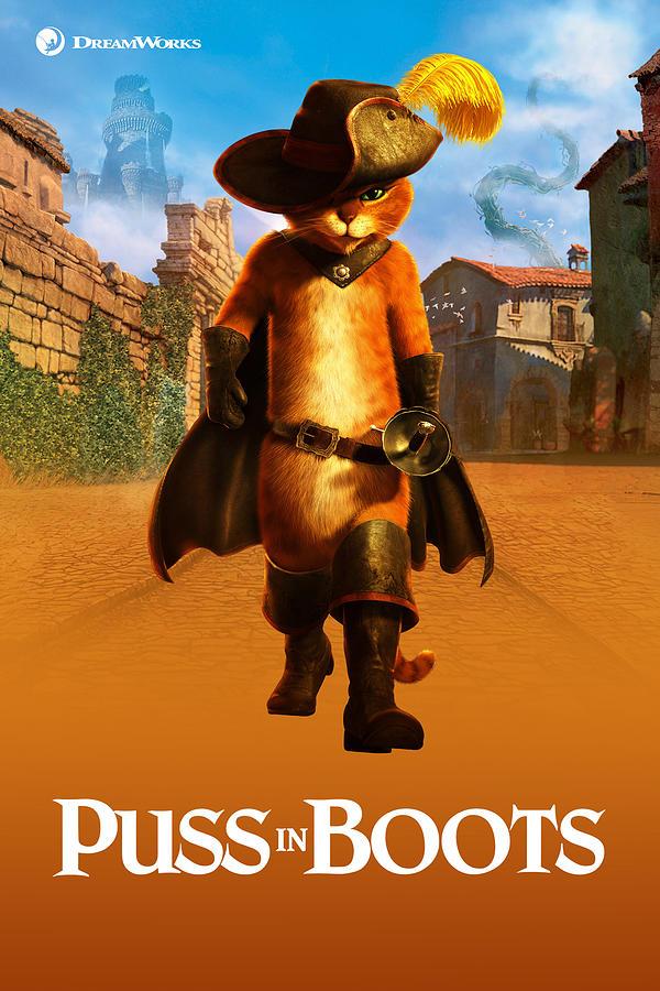 Puss In Boots 2011 Digital Art By Geek N Rock