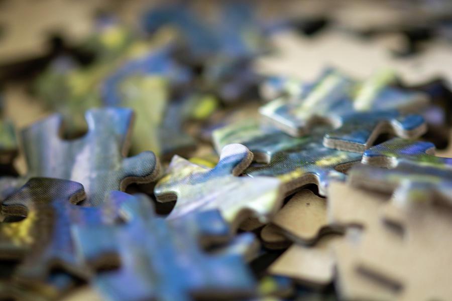 Puzzle Pieces Photograph