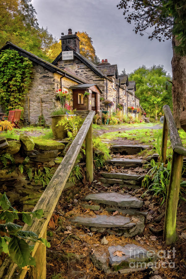 Quaint Tea Room Wales by Adrian Evans