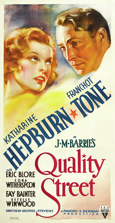 quality Street, With Katharine Hepburn, 1937 Mixed Media