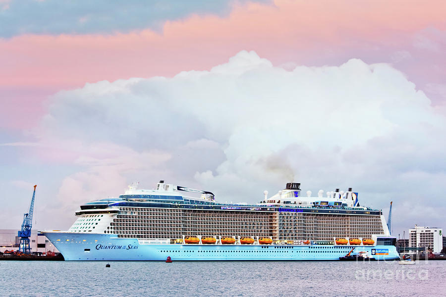 Quantum Of The Seas In Southampton Photograph