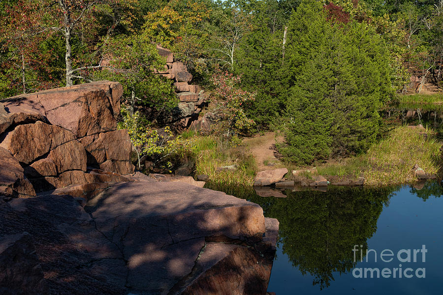 Quarry at Elephant Rocks by Garry McMichael