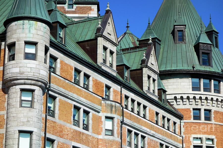 Quebec City Street Scene by Wilko Van de Kamp