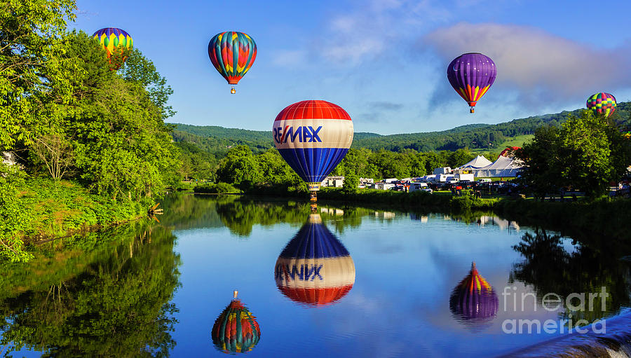 Quechee Baloon Festival by Scenic Vermont Photography