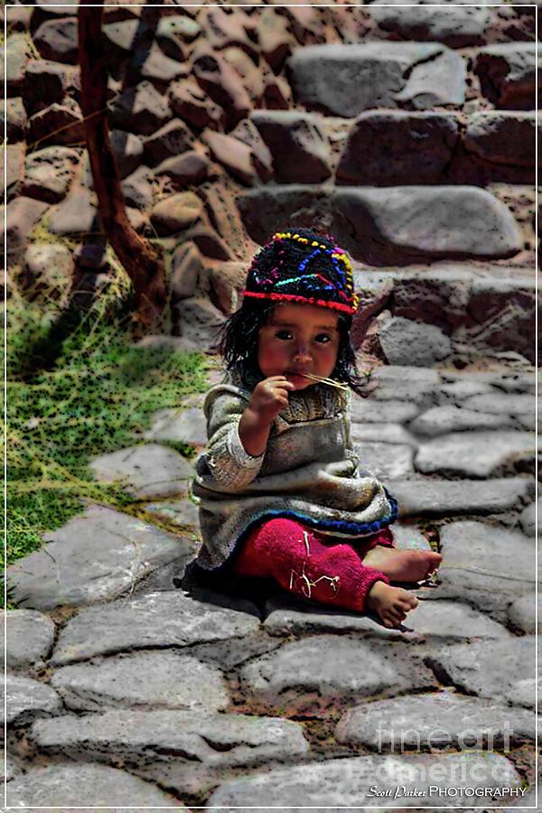 Quechua Girl by Scott Parker
