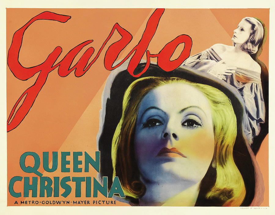 queen Christina, With Greta Garbo, 1933 Mixed Media