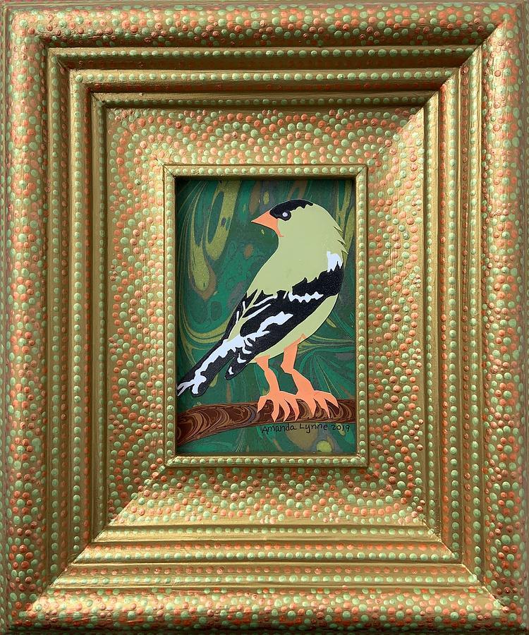 Queen Goldfinch by Amanda Lynne