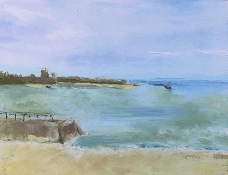 Quiet Shores by Donna Joy Cavaliere