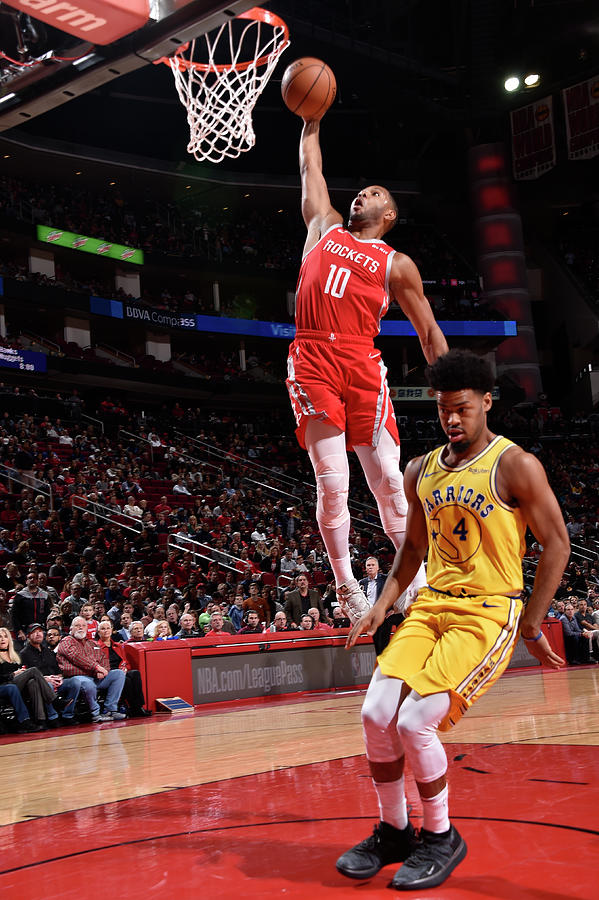Quinn Cook and Eric Gordon Photograph by Bill Baptist
