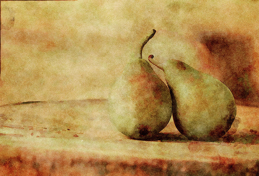 Quite The Pear Mixed Media