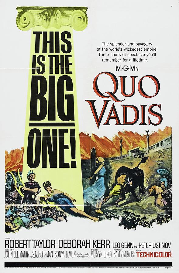 quo Vadis 2, With Robert Taylor And Deborah Kerr, 1951 Mixed Media