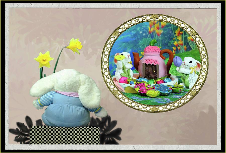 Rabbit Story Digital Art